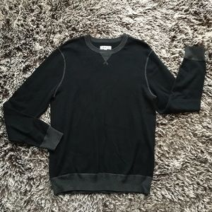 Rail sweater top long sleeve black medium M